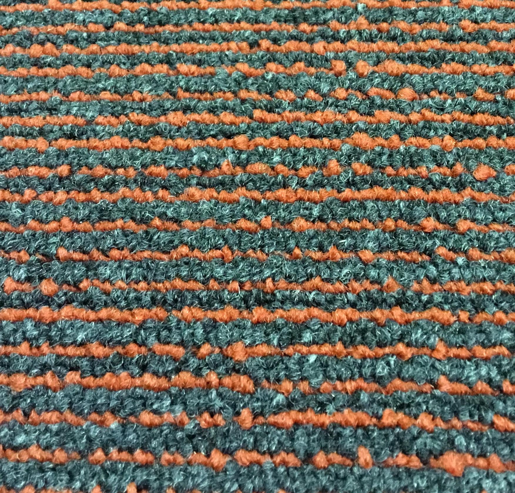 CarpetTilesOutlet com - Common Ground - Unity - Grey/Orange