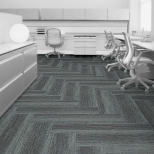 Looking for Interface carpet tiles? Touch of Timber in the color Blue Spruce is an excellent choice. View this and other carpet tiles in our webshop.